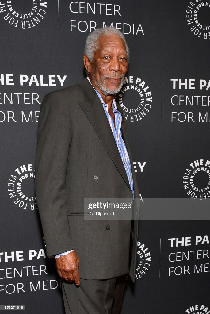 Host/executive producer Morgan Freeman attends The Paley Center for Media Presents 'The Story of Us with Morgan Freeman' at The Paley Center for Media on September 28, 2017 in New York City.