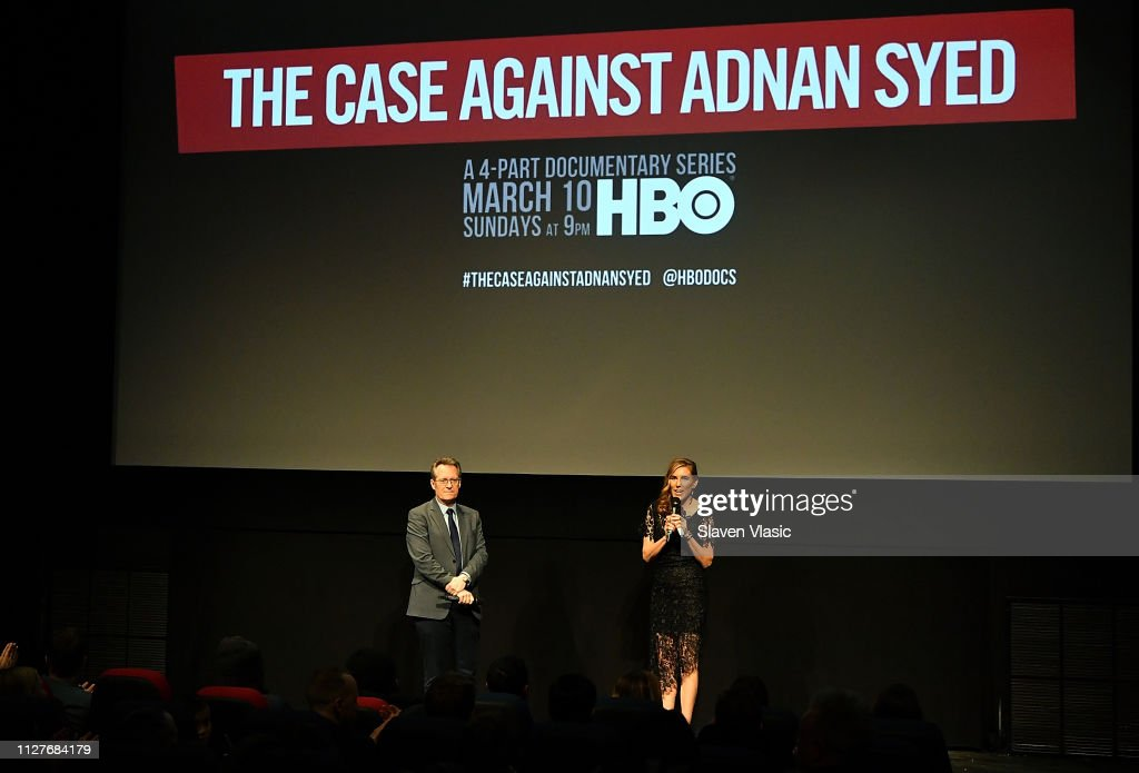"NY Premiere Of HBO's ""The Case Against Adnan Syed"" At PURE NON FICTION : Nachrichtenfoto"