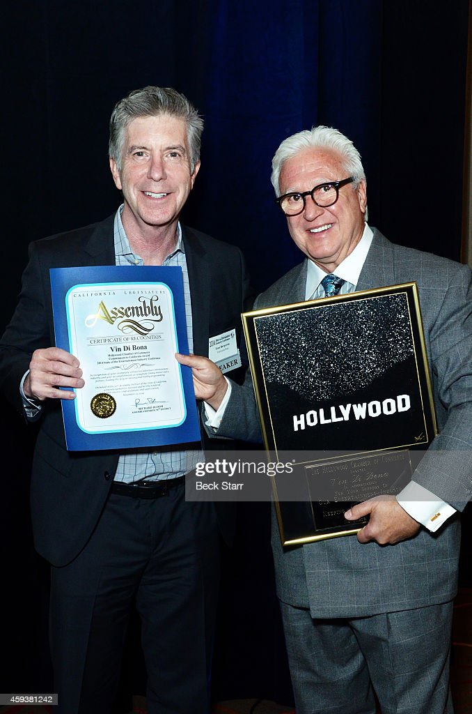 The Hollywood Chamber Of Commerce's 3rd Annual State Of The Entertainment Industry Conference : News Photo