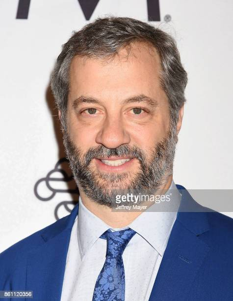 Host/producer/writer/director Judd Apatow arrives at the Variety's Power Of Women Los Angeles at the Beverly Wilshire Four Seasons Hotel on October...
