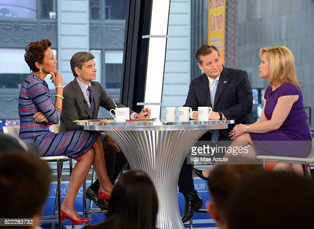 AMERICA GMA hosts a Town Hall Meeting with Republican Presidential Candidate Senator Ted Cruz The Town Hall airs on 'Good Morning America' 4/18/16 on...