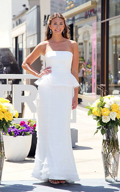 EXTRA Hosts A Wedding Gown Fashion Show At Westfield Century City On June 5 2014