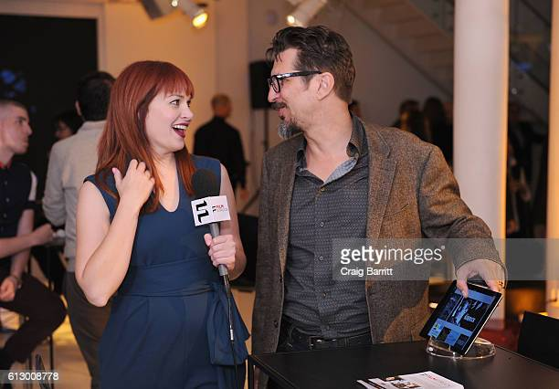 Hosts Alicia Malone and Lucky Yates attend the FilmStruck launch event at 404 NYC on October 6 2016 in New York City