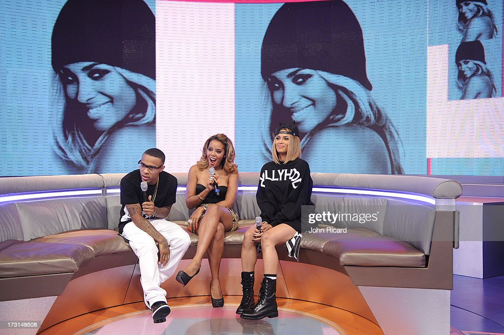 hosts bow wow and angela simmons chat with ciara at bets 106 park at picture id173149508 - Healthier Relationships 101: 5 facts to consider before you begin Dating a pal