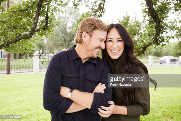 Hosts Chip Gaines and Joanna Gaines are photographed for People Magazine on October 2, 2018 in Waco, Texas. PUBLISHED IMAGE.