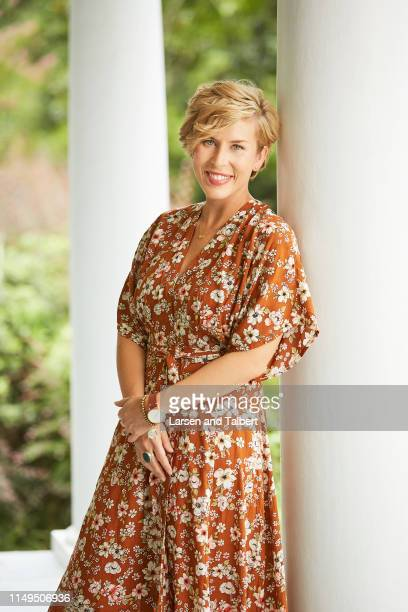 Hosts Erin Napier is photographed for Guideposts Magazine on August 10, 2018 in Laurel, Mississippi. PUBLISHED IMAGE.