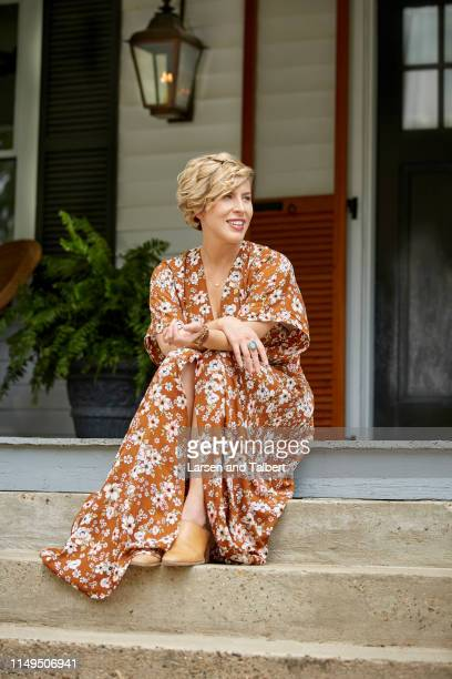 Hosts Erin Napier is photographed for Guideposts Magazine on August 10, 2018 in Laurel, Mississippi.