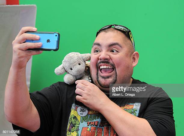 Hosts Gabriel Iglesias For Made For Moments Holiday Campaign held at Glendale Galleria on December 12 2015 in Glendale California