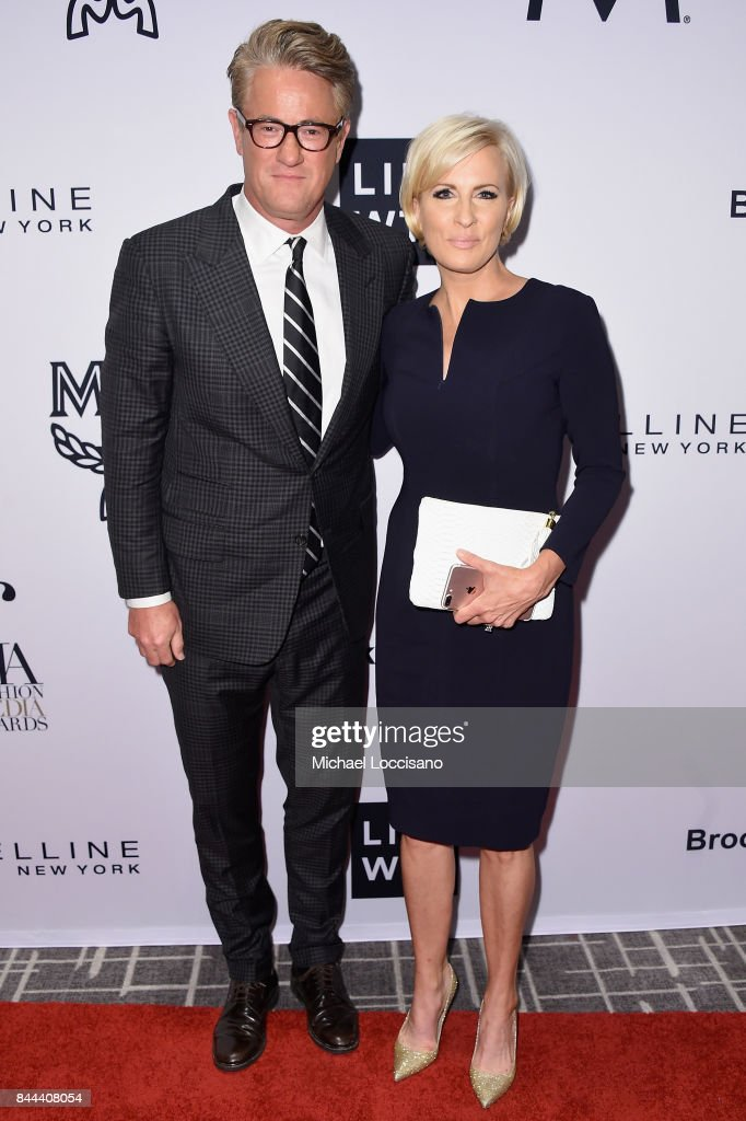 MSNBC hosts Joe Scarborough and Mika Brzezinski attend the Daily Front Row's Fashion Media Awards at Four Seasons Hotel New York Downtown on September 8, 2017 in New York City.