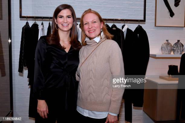 Hosts Kaitlan Collins and Emily Smith attend the Lafayette 148 New York American University event at Tysons Galleria on November 21 2019 in Mclean...