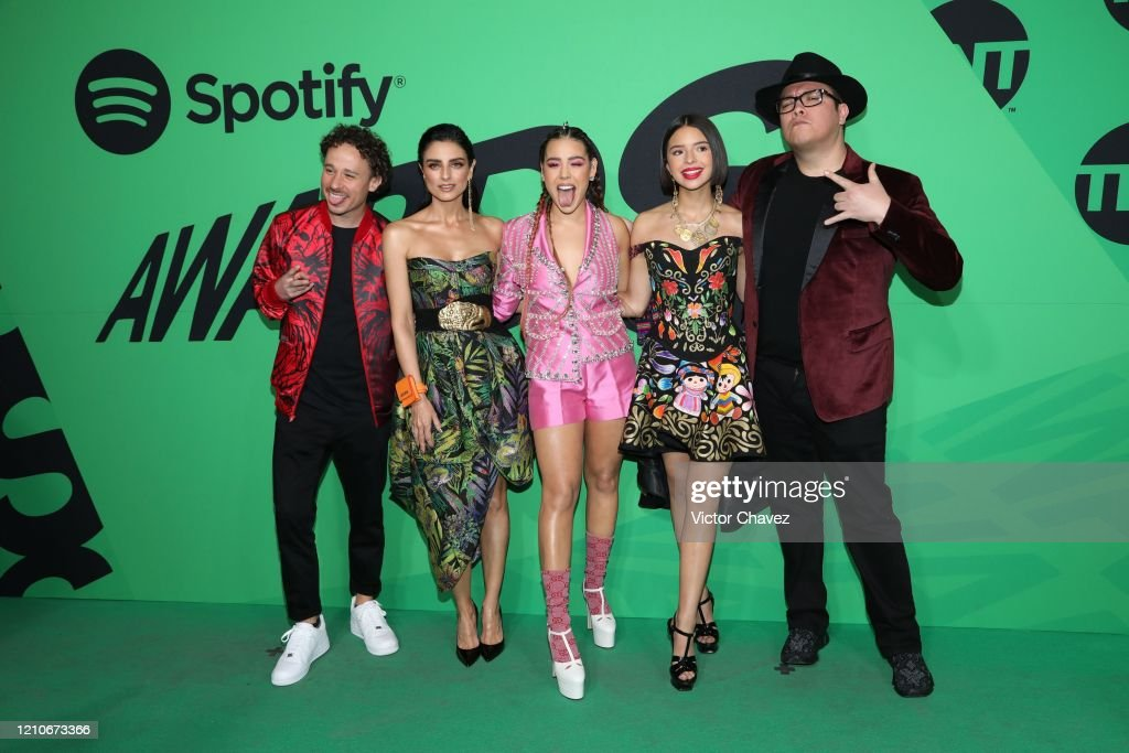 Spotify Awards In Mexico – Red Carpet : News Photo