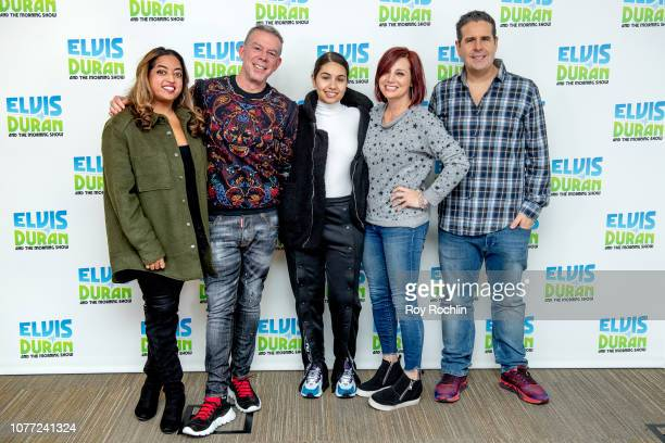 Hosts Medha Gandhi Elvis Duran Danielle Monaro and Skeery Jones with Alessia Cara visit as she performs and discusses Jingle Ball and her new album...