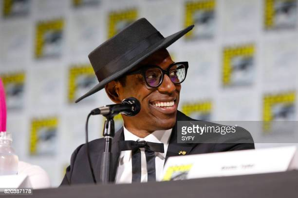 DIEGO 'SYFY Hosts The Great Debate Panel' Pictured Orlando Jones
