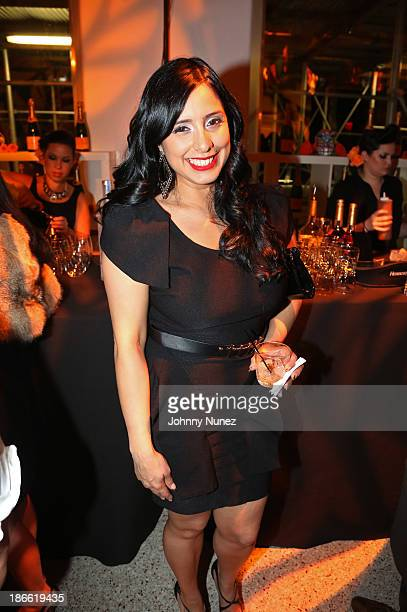 Hot 97 radio personality Laura Stylez attends Friday Night's Party Dia de Los Muertos at El Museo Del Barrio on November 1 2013 in New York City