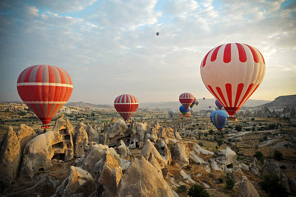 Hot Air Ballons Of Cappadocia Wall Art