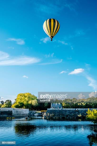Hot air balloon at Chenonceau, France