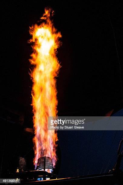 Hot air balloon burner/flame