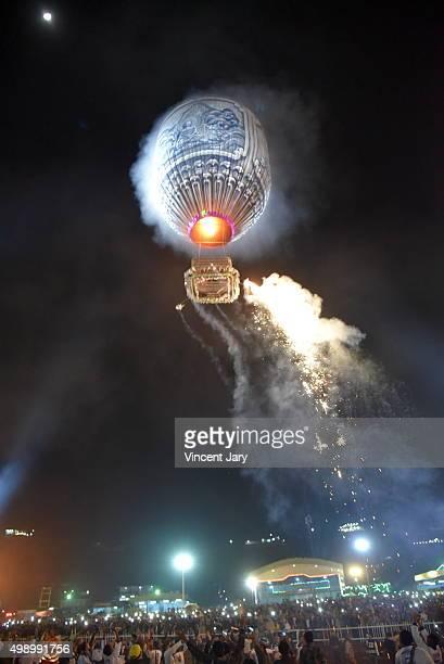 Hot air balloon festival, Myanmar, Burma