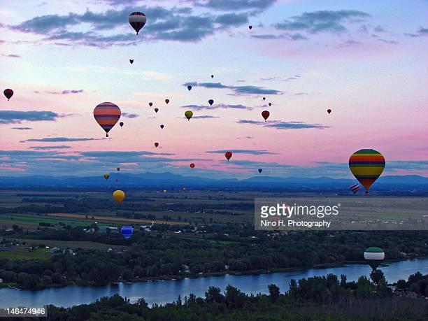 Hot air balloon festival - St-Jean sur Richelieu