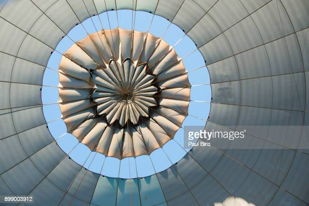 Hot Air Balloon from beneath, Cappadochia, Anatolia, Turkey