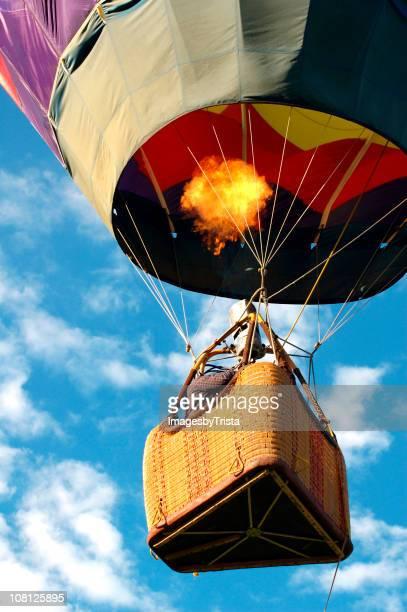 熱気球の空