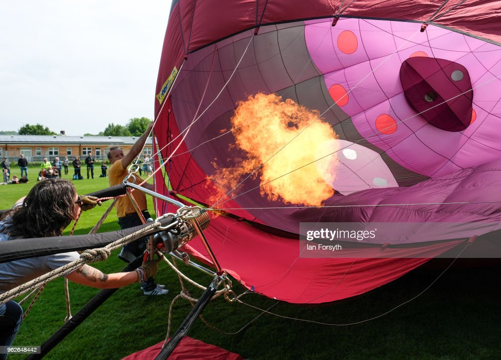 Hot Air Balloon Festival Takes Place In Durham