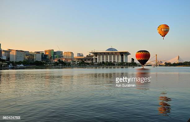 Hot Air Balloon over Putrajaya