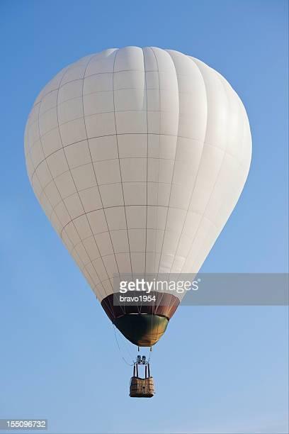 hot air balloon - twee objecten stockfoto's en -beelden