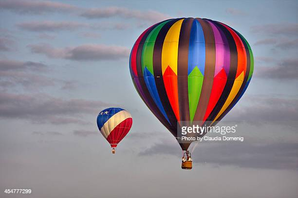 Hot Air Balloon Race - The Chase