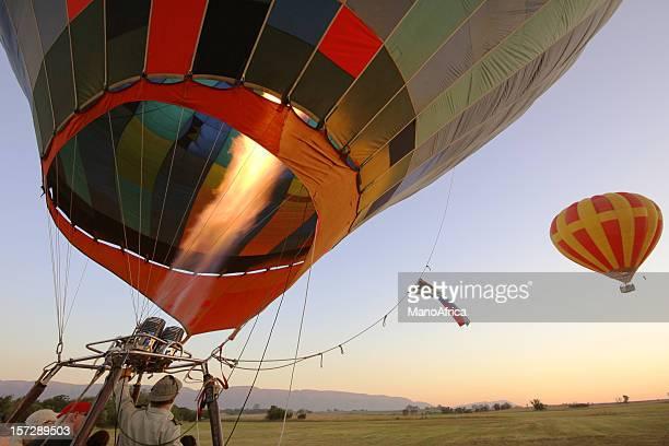 Hot Air Balloon Take Off