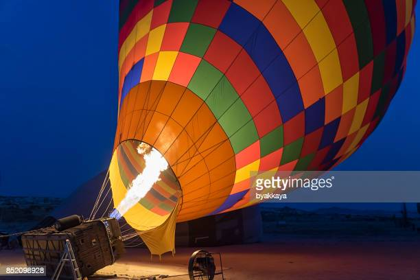 Hot Air Balloon Take Off
