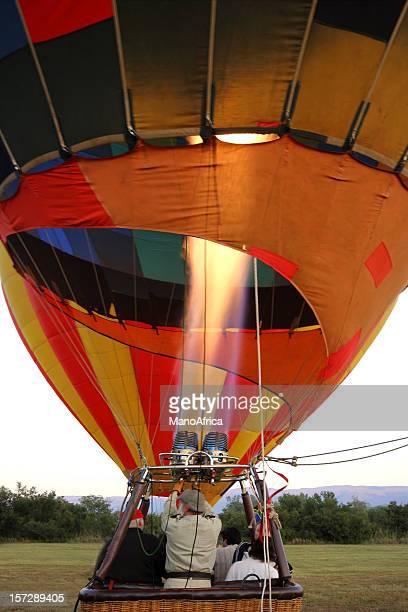熱気球離陸 3