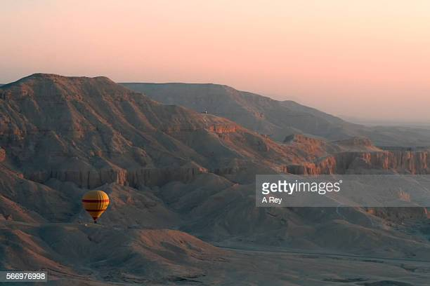 Hot air balloon, Valley of the Kings