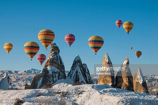 Hot Air Ballooning in Cappadocia, Nevsehir, Turkey