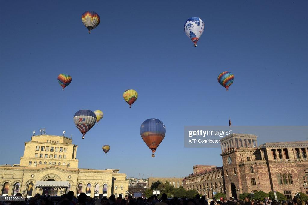 ARMENIA-BALLOON-FESTIVAL-FEATURE : News Photo