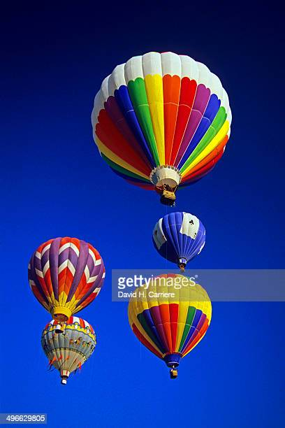 hot air balloons - park city utah stock pictures, royalty-free photos & images