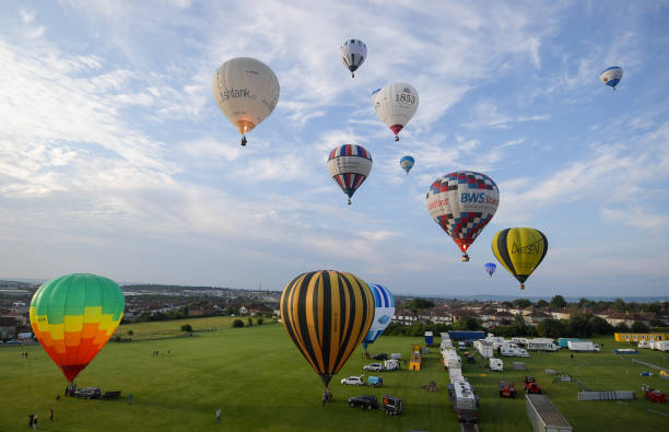 GBR: Bristol International Balloon Fiesta Fortnight Kicks Off