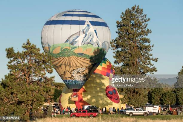 Hot Air Ballooons over Bend, Oregon
