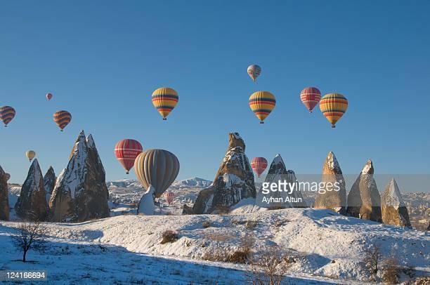 Hot air balooning in Cappadocia