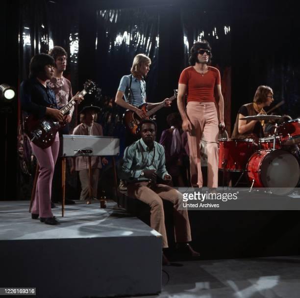 Hot and Sweet, Musiksendung, Deutschland 1970, Gaststar: niederländische Popband George Baker Selection.