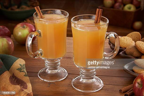 Hot Apple Cider für zwei Personen