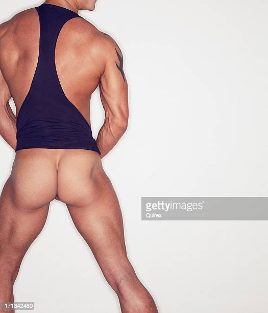 hot ass - male bum stock photos and pictures