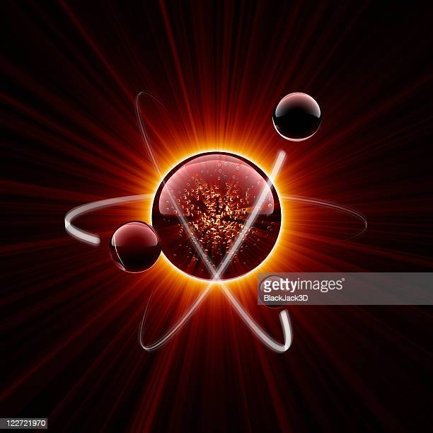 hot atom - nucleus stock pictures, royalty-free photos & images