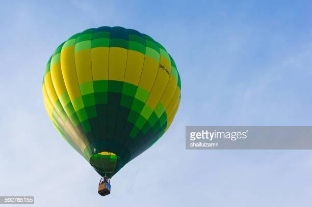 hot ballon in putrajaya - shaifulzamri stockfoto's en -beelden