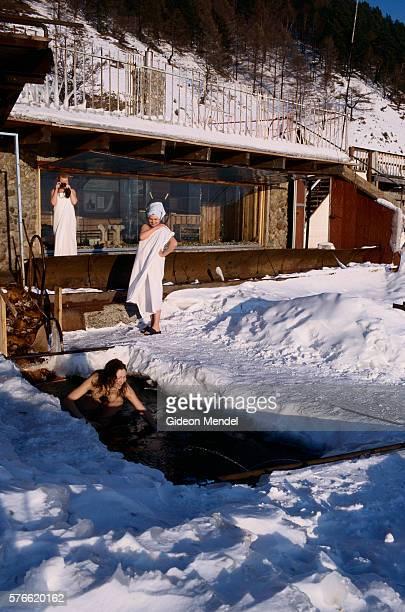 Hot Bath by Lake Baikal