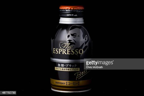 A hot canned coffee from a convenience store or konbini is