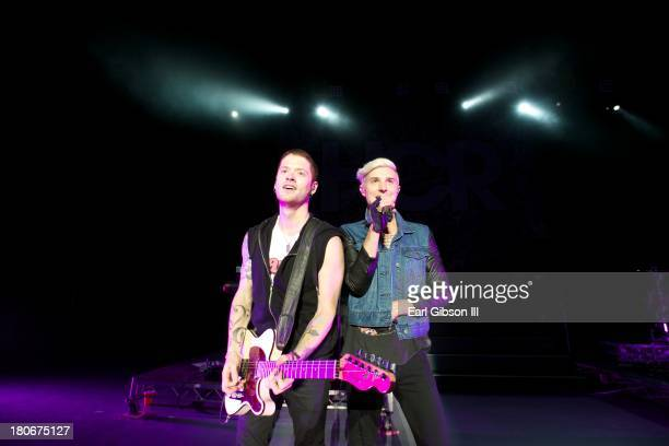 Hot Chelle Rae performs at The Greek Theatre on September 15 2013 in Los Angeles California