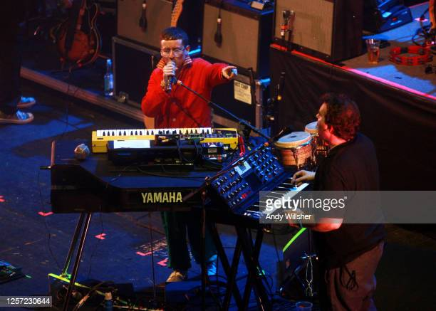 Hot Chip performing at Brixton Academy in 2010