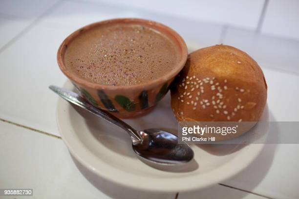Hot chocolate / Chocolate Quente is another Oaxacan food speciality served with a bread roll it resembles a soup more than a hot drink Oaxaca is...