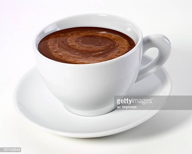 chocolate caliente bebida